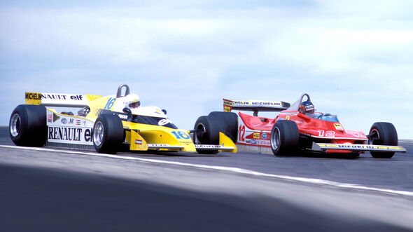 Villeneuve vs. Arnoux - GP Frankreich 1979 - Dijon