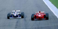 Villeneuve vs. Schumacher - F1-Saison 1997