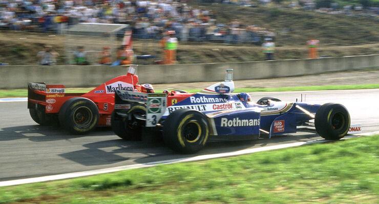 Villeneuve vs. Schumacher