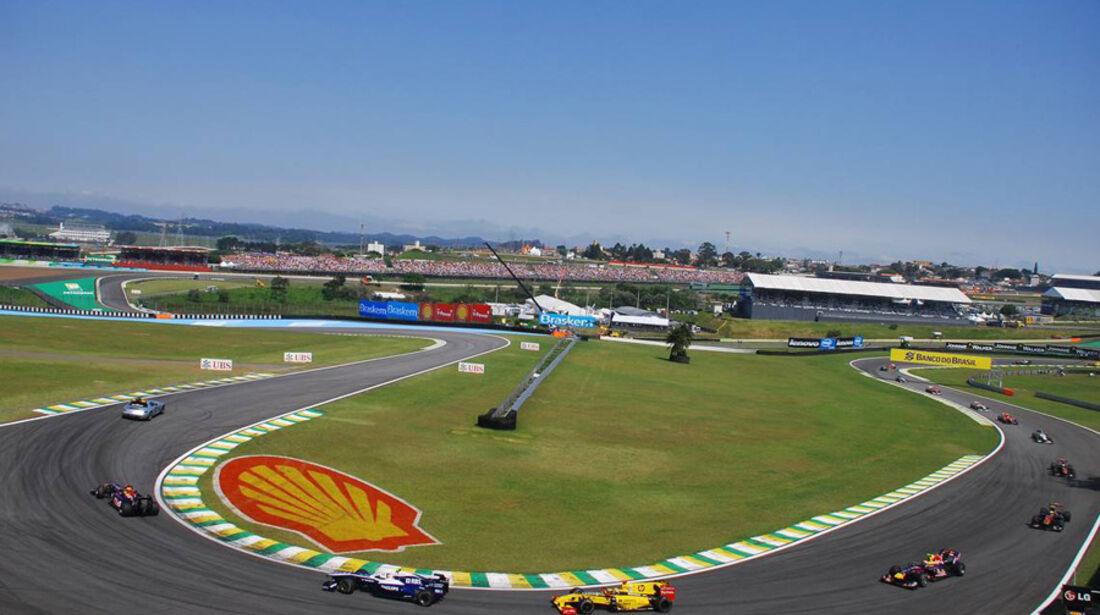 Virgin vs. Lotus GP Brasilien 2010