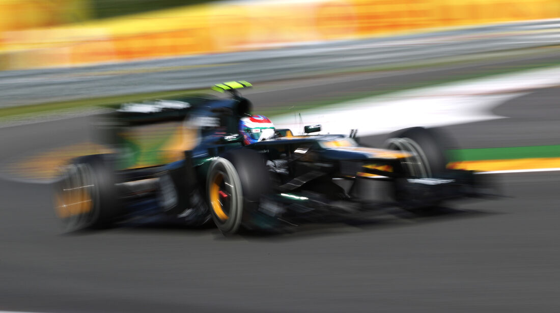 Vitaly Petrov - Caterham - Formel 1 - GP Belgien - Spa-Francorchamps - 1. September 2012