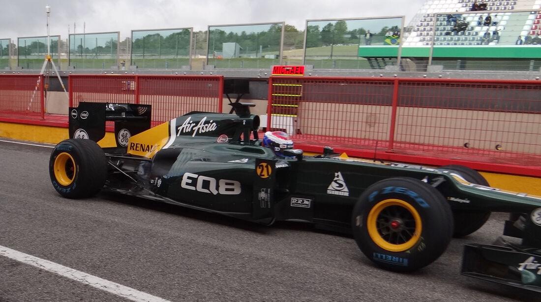 Vitaly Petrov - Caterham - Formel 1-Test - Mugello - 2. Mai 2012