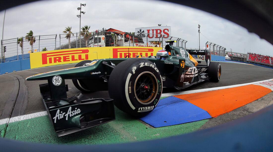 Vitaly Petrov - Caterham - GP Europa - Valencia - Formel 1 - 22. Juni 2012