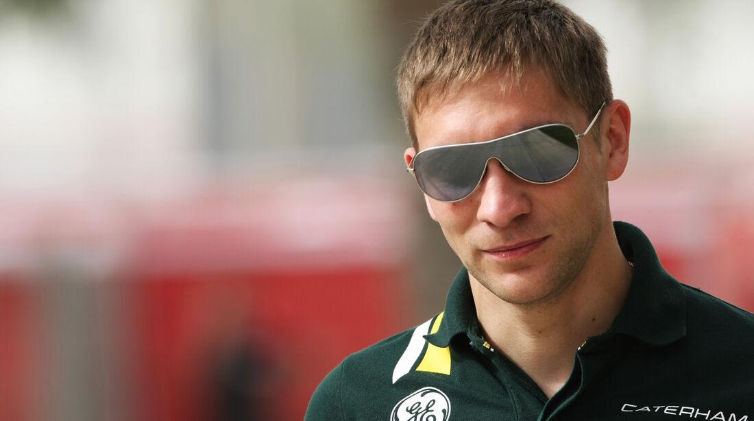 Vitaly Petrov - Formel 1 - GP Bahrain - 19. April 2012