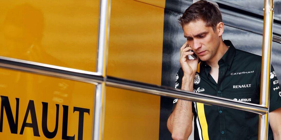 Vitaly Petrov - Formel 1 - GP Italien - 08. September 2012