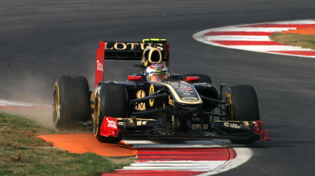 Vitaly Petrov GP Indien 2011