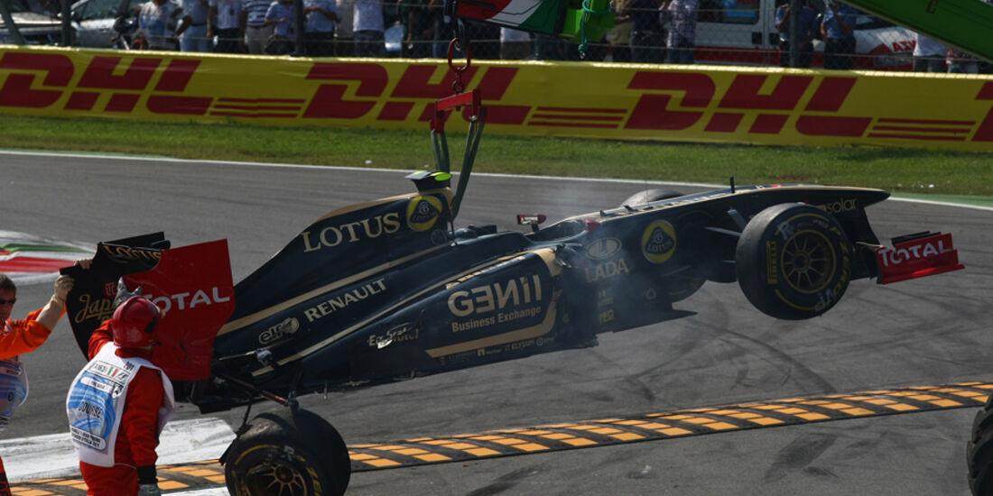 Vitaly Petrov GP Italien Monza 2011