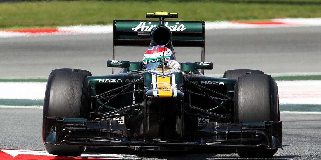 Vitaly Petrov GP Spanien 2012