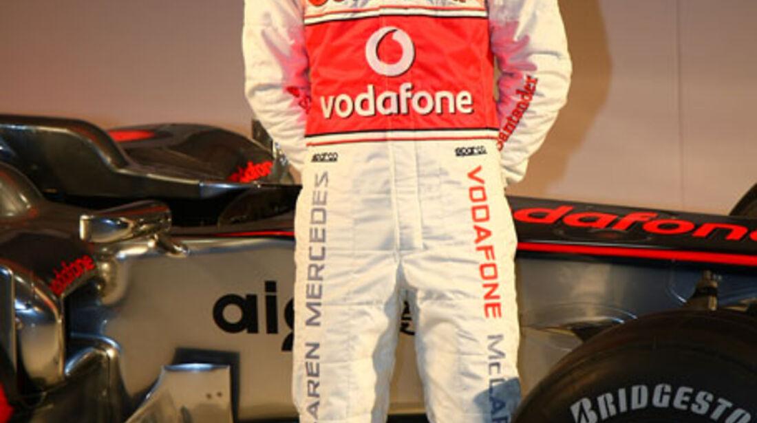 Vodafone McLaren Mercedes MP4-25 Launch