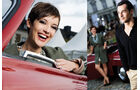Volkswagen Classic Gesicht, Schloss Bensberg, Foto-Shooting, mokla1011
