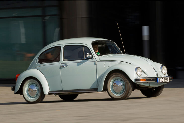 Volkswagen Mexico-Käfer, Seitenansicht