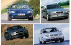 Volljährige Autos, 1998, 2016, 18 Jahre, Collage