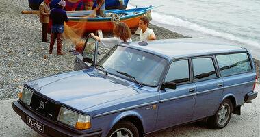Volvo 240 Turbo, Heckansicht