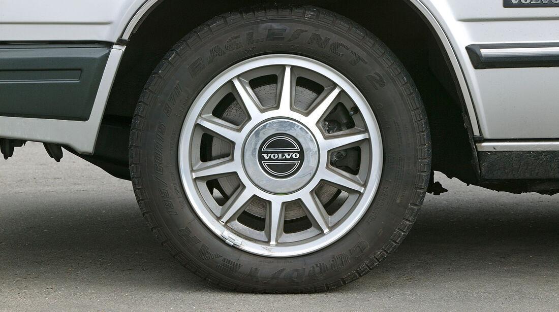 Volvo 700, Kaufberatung, Felge
