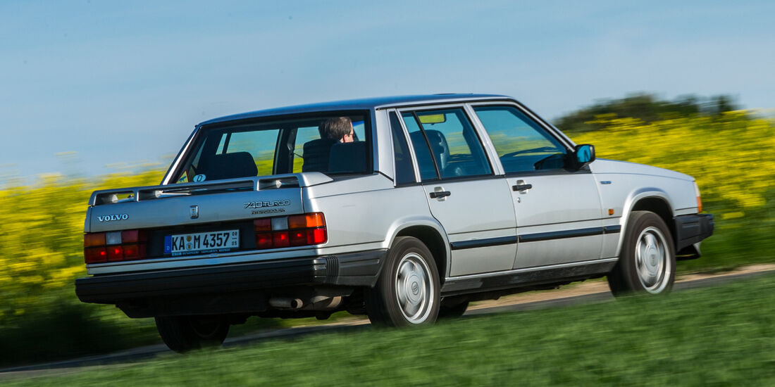 Volvo 740, Heckansicht