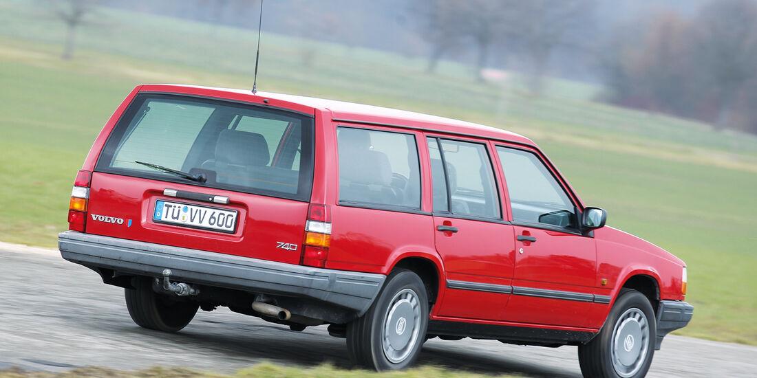 Volvo 740 Kombi, Heckansicht