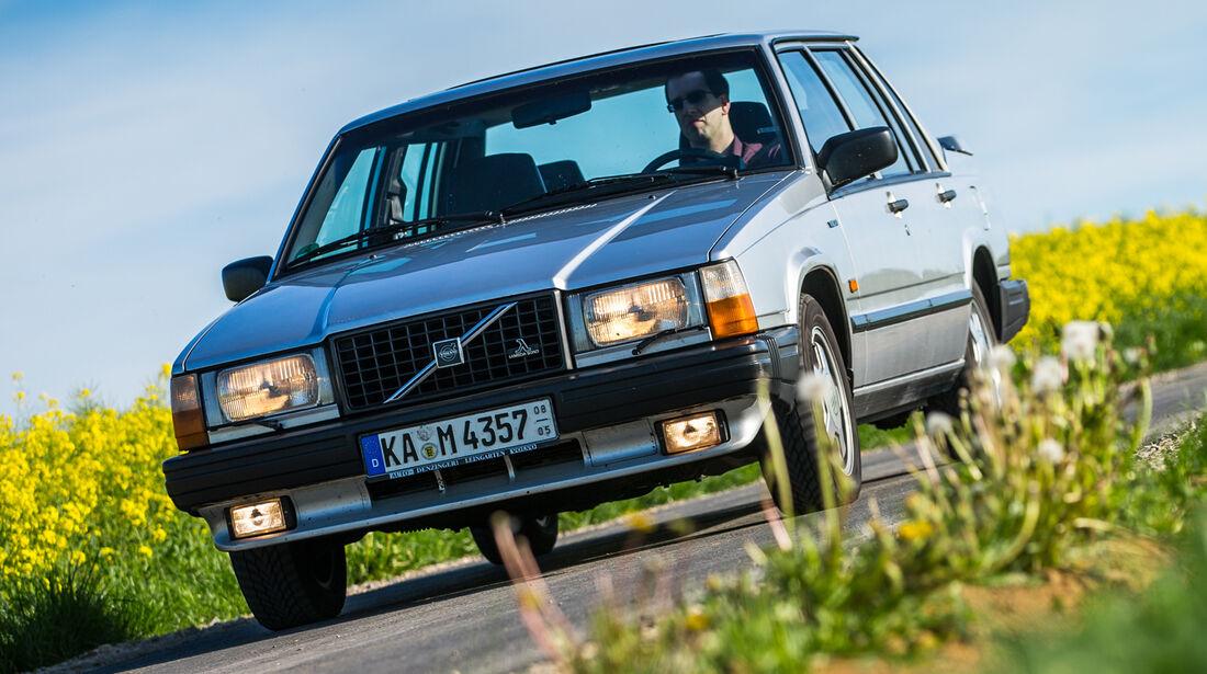 Volvo 740 Turbo Intercooler, Frontansicht