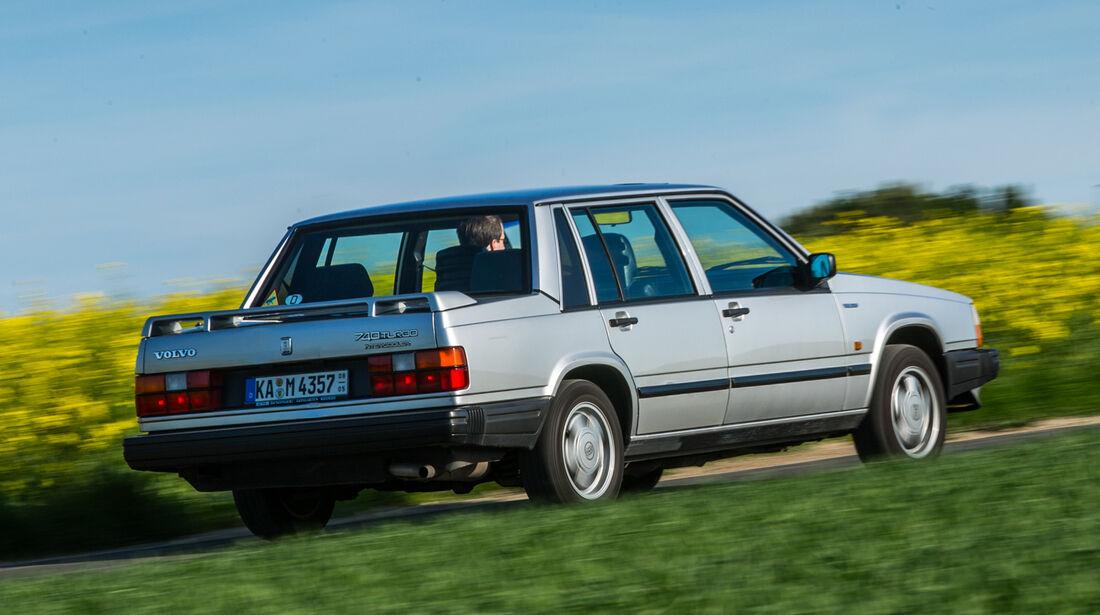 Volvo 740 Turbo Intercooler, Seitenansicht