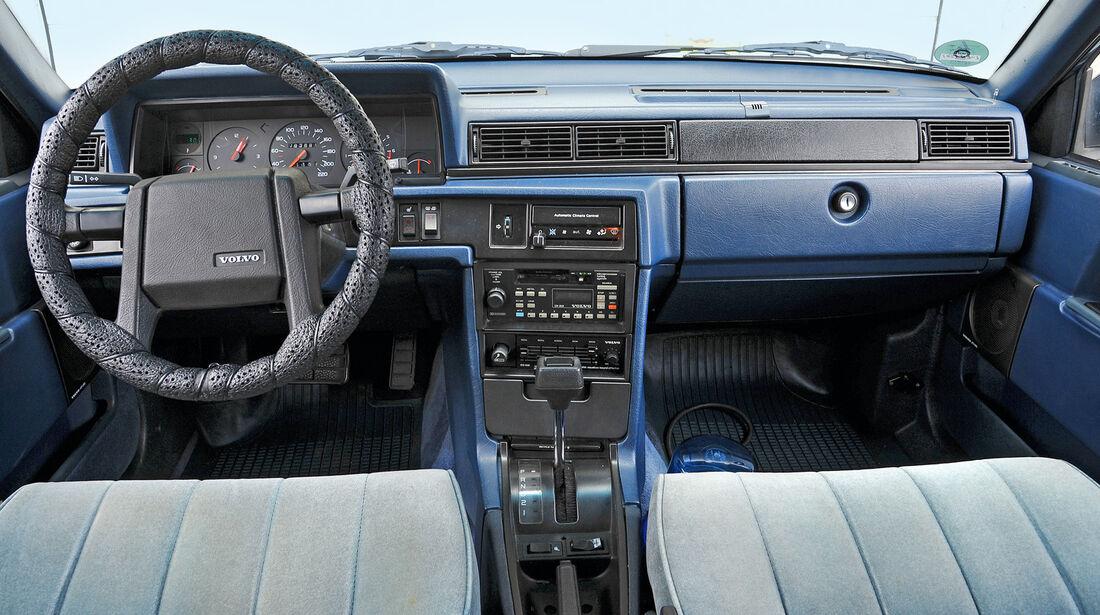 Volvo 760 GLE, Cockpit