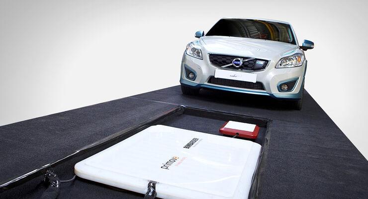 Volvo C30 Electric Induktionsladung