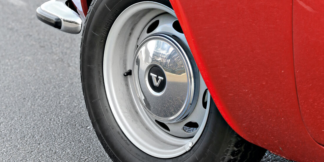 Volvo P1800 S, Felge