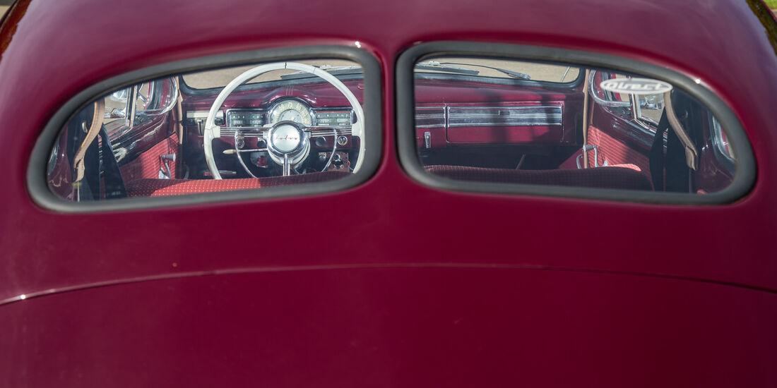 Volvo PV 444 E/ES, Heckfenster