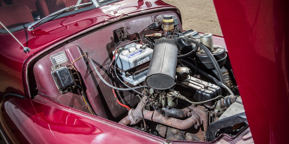 Volvo PV 444 E/ES, Motor