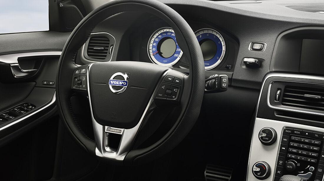 Volvo S60 Volvo V60 R-Design, Innenraum, Lenkrad