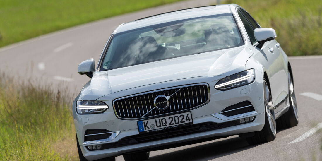 Volvo S90 D5 AWD Inscription, Frontansicht
