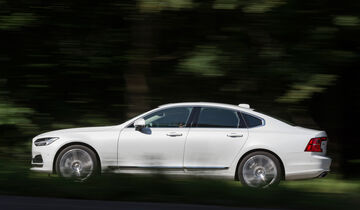 Volvo S90 D5 AWD Inscription, Seitenansicht