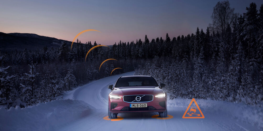 Volvo Slippery Road Alert