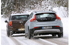 Volvo V40 Cross Country, Mini Cooper D Countryman, Heckansicht