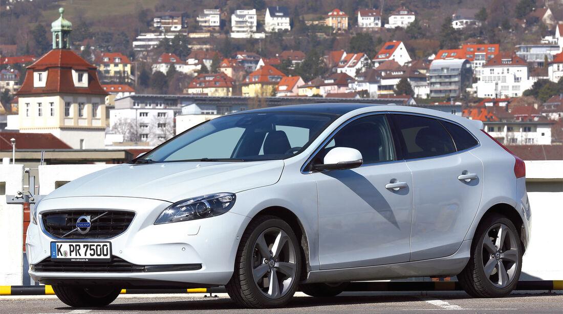Volvo V40, Seitenansicht