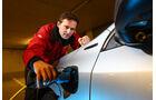 Volvo V60 D6 AWD, Strom tanken, Stromzufuhr
