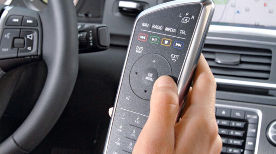 Volvo V60, Detail, Hifi-Anlage, Fernsteuerung