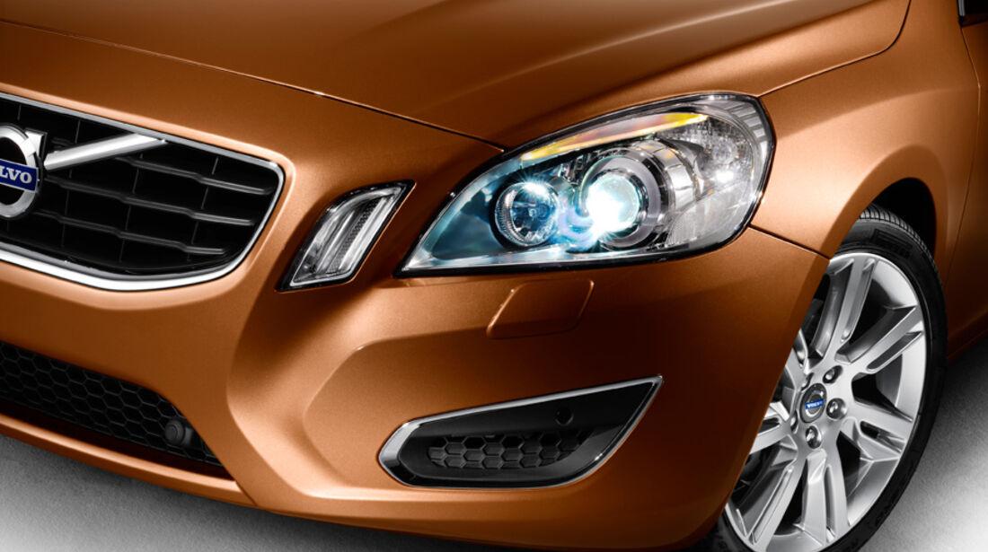 Volvo V60, Detail, Licht, Bixenon