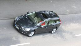Volvo V60 Drive Summum, von oben
