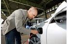 Volvo V60 Plugin Hybrid, Strom, Tankstelle