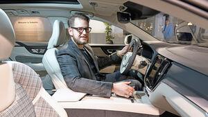 Volvo V60 Sitzprobe Weltpremiere Stockholm 2018