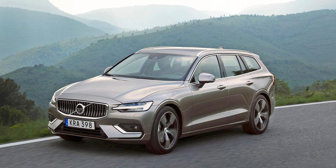 Volvo V60 T6 AWD - Serie - Limousinen bis 50000 Euro - sport auto Award 2019