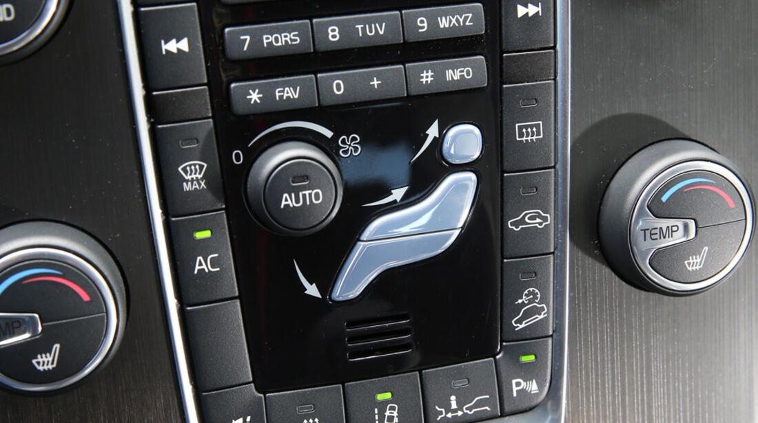 Volvo XC 60 D4 AWD, Bedienelemente