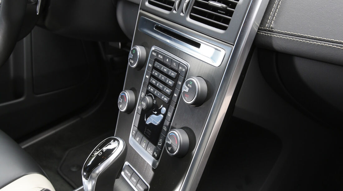 Volvo XC 60 D4 AWD, Mittelkonsole