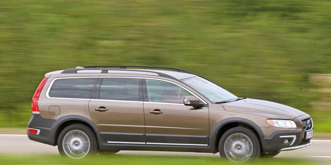 Volvo XC 70 D4 AWD, Seitenansicht