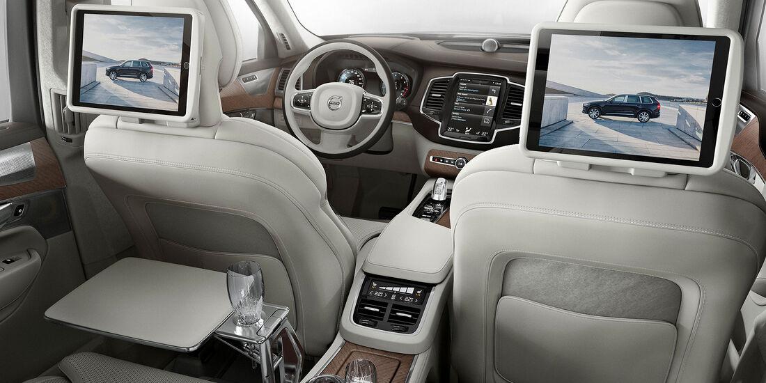 Volvo XC90 Excellence Shanghai 2015 SPERRFRIST
