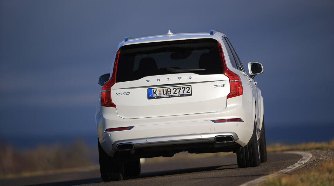 Volvo XC90, Exterieur