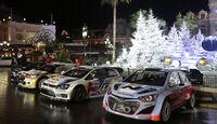 WRC-Teams - Rallye Monte Carlo 2014