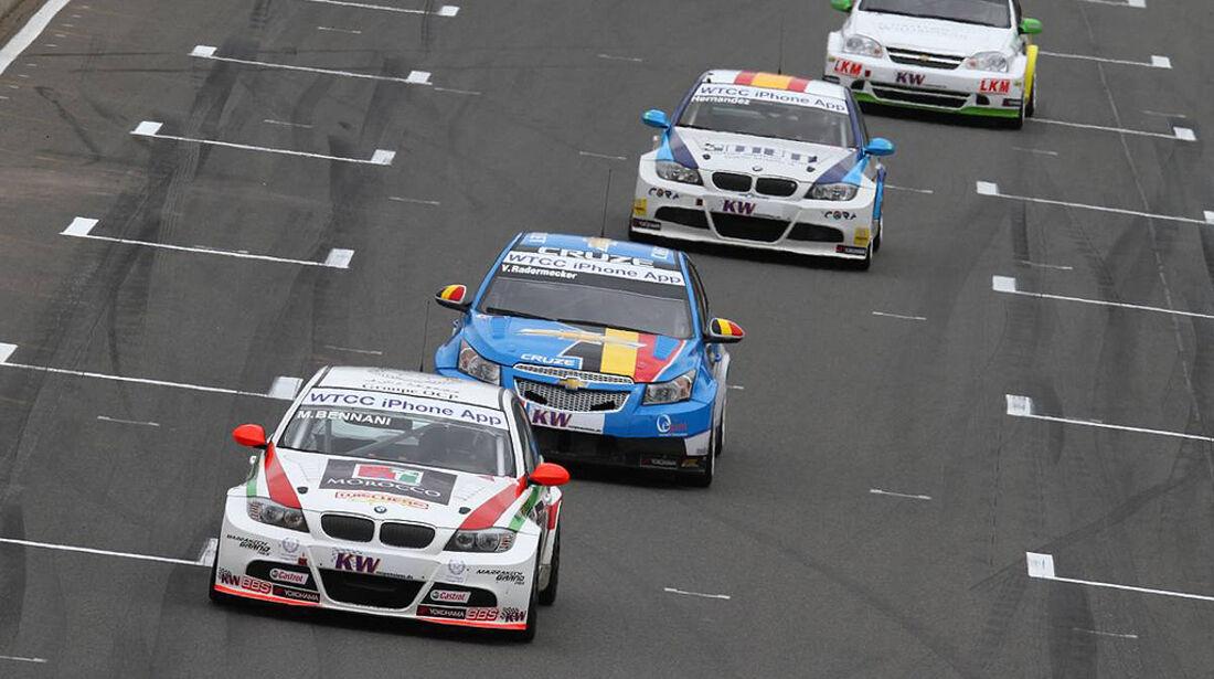 WTCC, Tourenwagen WM, Zolder, 2010, BMW 320 si, Bennani