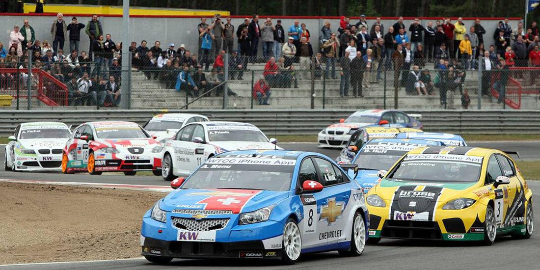 WTCC, Tourenwagen WM, Zolder, 2010, Chevrolet, Seat, Kurvenaction