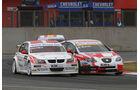 WTCC, Tourenwagen WM, Zolder, 2010, Zweikampf, BMW 320 si, Poulsen, Seat Leon, Barth