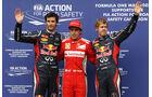Webber, Alonso & Vettel - GP Deutschland 2012